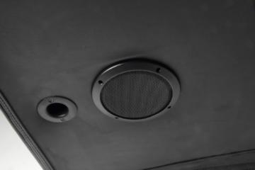 AC Design Furniture 8553 Musiksessel Henk, Bezug Kunstleder mit eingebautem Soundsystem, schwarz - 5