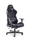 dx racer5 gaming stuhl schreibtischstuhl buerostuhl chefsessel mit armlehnen gaming chair gestell nylon schwarz 78 x 52 x 124 134 cm stoff schwarz grau