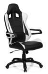 hjh office 621836 gaming stuhl buerostuhl racer pro i kunstleder schwarzweiss
